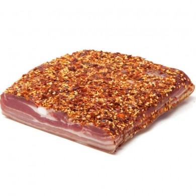 Pancetta Tesa al Peperoncino c.a. 1,3 kg